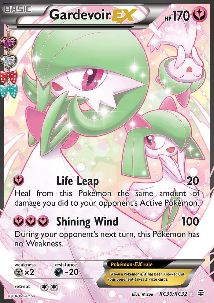 Pokemon Generations Radiant Collection Single Card Full Art Gardevoir EX RC30/RC32