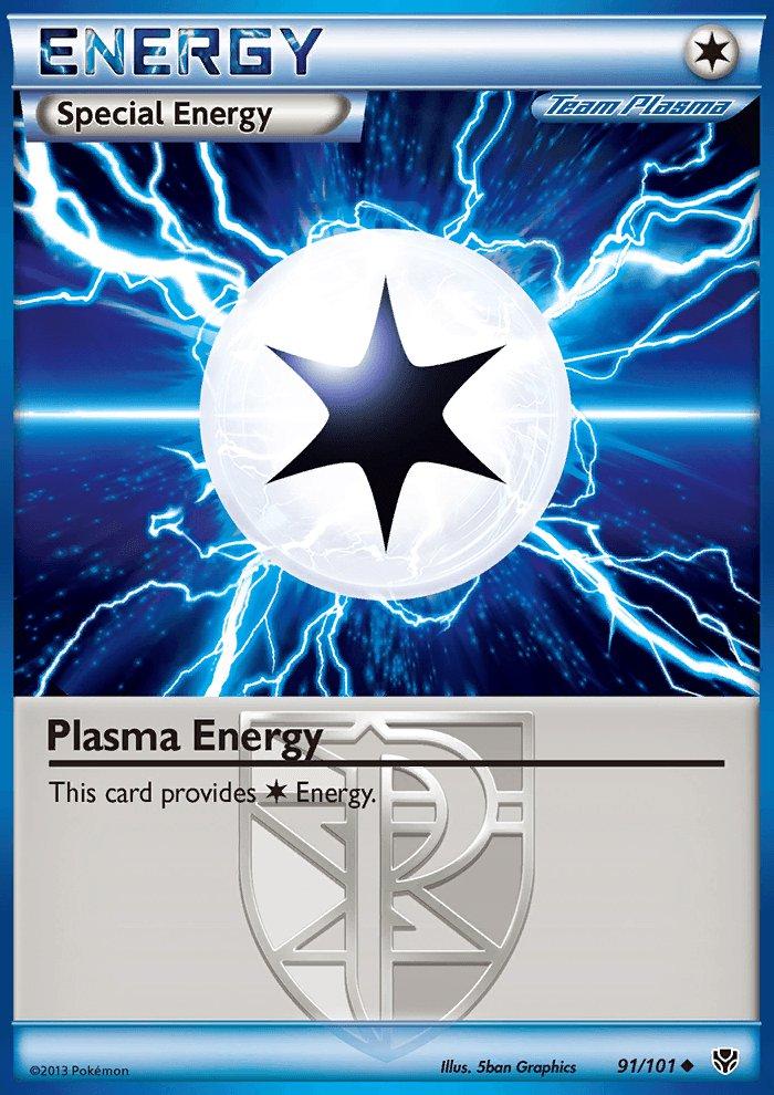 Pokemon B&W Plasma Blast Single Card Uncommon Plasma Energy 91/101