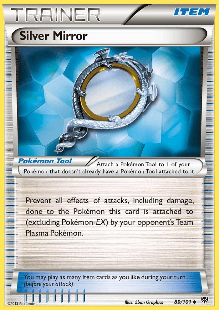 Pokemon B&W Plasma Blast Single Card Uncommon Silver Mirror 89/101