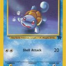 Pokemon Team Rocket Single Card Common Squirtle 68/82