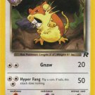 Pokemon Team Rocket Single Card Common Dark Raticate 51/82