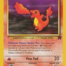 Pokemon Team Rocket Single Card Common Charmander 50/82