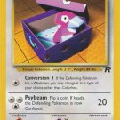 Pokemon Team Rocket Single Card Uncommon Porygon 48/82