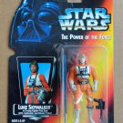 1995 Star Wars Luke Skywalker The Power of the Force Figure on Red Card