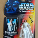 1995 Star Wars Princess Leia Organa The Power of the Force Figure on Red Card