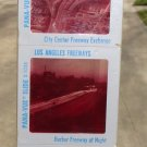 Early 60's Pana-Vue Los Angeles Freeways Set of 4 Slides Sealed Original Package