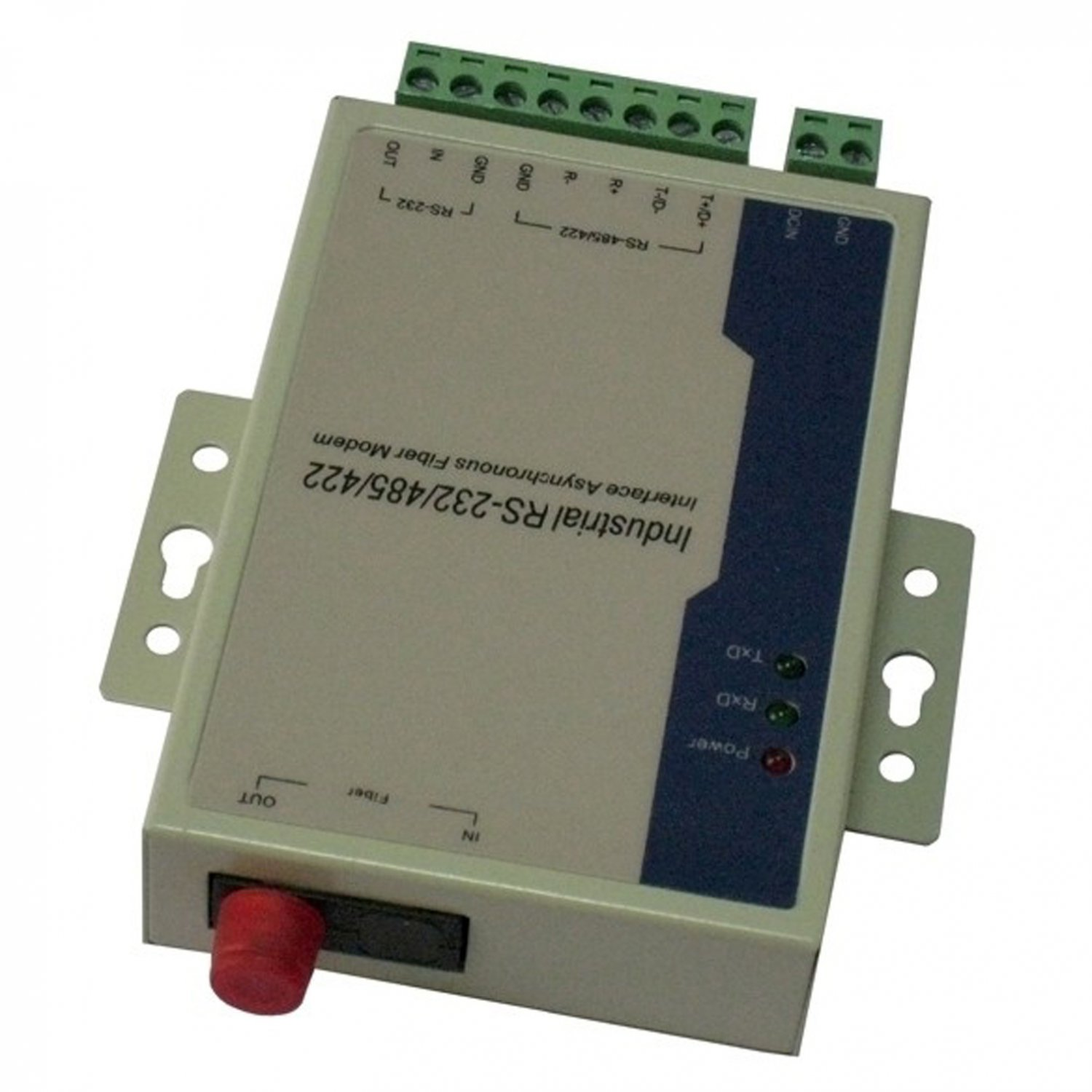 RS-232 RS-485 RS-422 serial optic fiber Modem