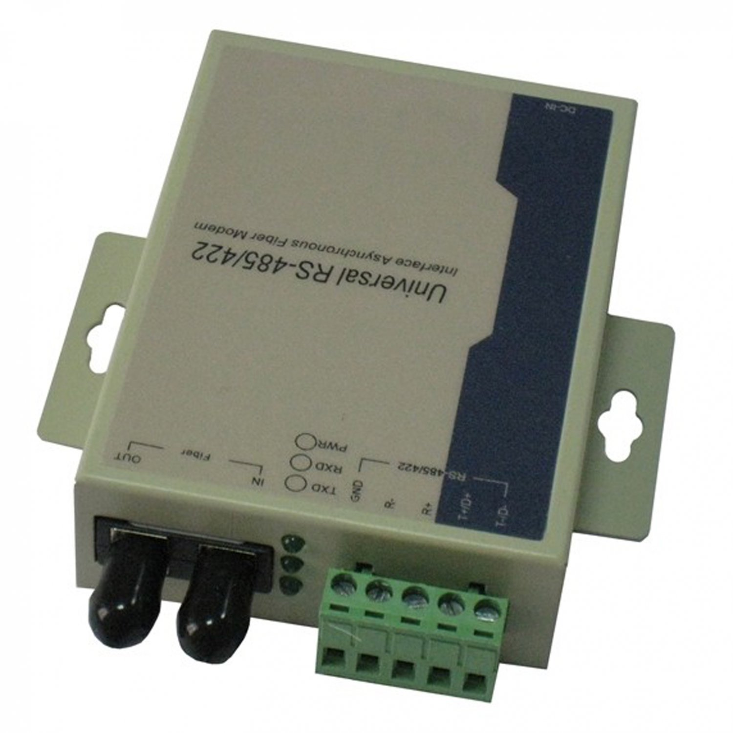 RS-485 RS-422 serial optic fiber MODEM