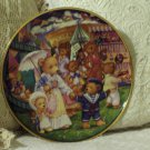 FRANKLIN MINT Teddy Bear Fair Decor Plate 1991