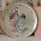 HAMILTON Little Ladies Bridesmaid Plate 1989
