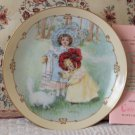 HAMILTON Little Ladies Kittys Bath Plate 1990