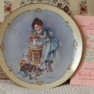 HAMILTON Little Ladies Playin Mama Decor Plate 1989