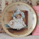 HAMILTON Little Ladies Sarah Decor Plate 1990