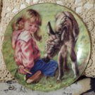 HAMILTON No Fair Peeking Childrens Plate 1985