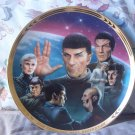 HAMILTON Star Trek TNG Unification Decor Plate 1994