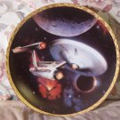 HAMILTON Star Trek USS Enterprise Decor Plate 1993