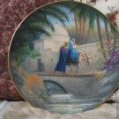 HERITAGE HOUSE Jesus Plate Flight Egypt 1986