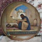 HERITAGE HOUSE Jesus Plate Healing Sick 1986