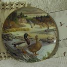 KNOWLES The Mallard Collector Duck Plate 1986