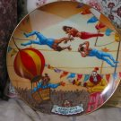 RINGLING BROTHERS Aerialists Circus Plate 1981