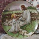 WJ GEORGE Lords Shepard Jesus Decor Plate 1988