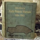 CHILTON Auto Repair Manual 1954-63-Used Pub 1971