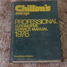 CHILTON Auto Repair Manual American Cars 1976 Mechanics
