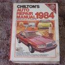 CHILTON Auto Repair Manual American Cars 1977 1984