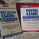 ARCO Post Office Clerk and Carrier Study Book 1987 Used