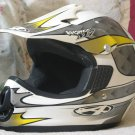 ANSWER Motocross Off Road Motorcycle Helmet Sz SM Used