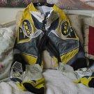 ARC Motocross Racing Pants MX220 Sz 28 Yel Black Used