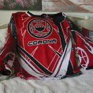 ARC Corona Motocross Motocycle Shirt Jersey Red Black