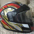 HJC CL12 Momentum Motorcycle Helmet Sz Small Red Black
