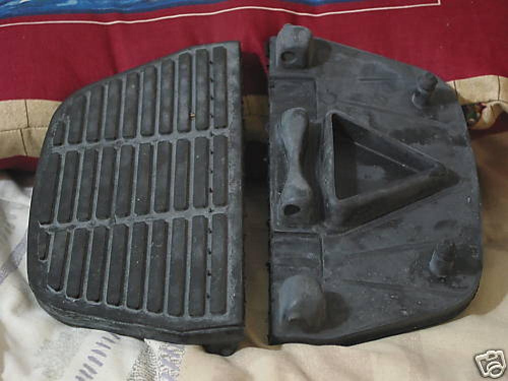 HARLEY DAVIDSON Motorcycle Passenger Footboard Pads Used