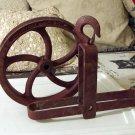 DURABILT Pulley Hoist Wheel and Hanger 1000 lb Vintage