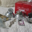 KWIKSET Double Cylinder Deadbolt 99850-049 Chrome