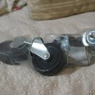 CASTER WHEEL Swivel Set of 4 Plastic 2 Locking Unused