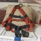 KLEIN TOOLS Orange Safety Fall Harness One Ring Used
