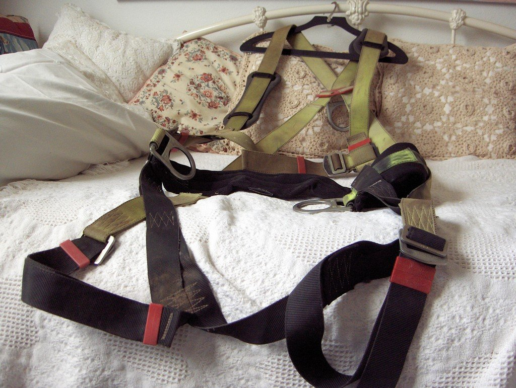 PROTECTA Construction Safety Fall Harness Yellow Black