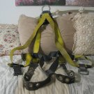 SAFEWAZE Safety Fall Harness Yellow 1 Ring Sz. Medium Used