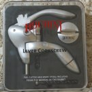 HOUDINI Silver Lever Corkscrew Foil Cutter Unused