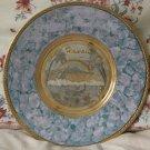 ART OF CHOKIN Engraved Display Plate Hawaii Theme