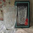 CRYSTAL CLEAR Brand Vase 7 in Pinwheel Lead Crystal