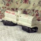 MARX 1 Dome White Tanker Car Allstate Rocket Fuel