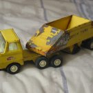 TONKA Bottom Dump Pressed Steel Truck Toy Vehicle