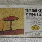 XACTO HOUSE OF MINIATURES Tilt Top Table 1976 No 40008