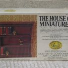 XACTO HOUSE OF MINIATURES Cabinet Top 1976 No 40002