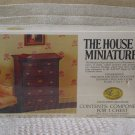XACTO HOUSE OF MINIATURES 6 Drawer Chest 1976 No 40010