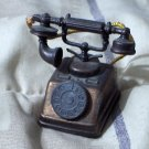 DURHAM Miniature Dollhouse Metal Furniture Number 4 Table Telephone