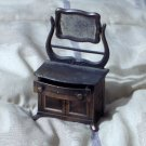 DURHAM Miniature Dollhouse Metal Furniture Number 32 Dresser